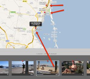 GPS-paikkatieto on liitetty kuvaan automaattisesti kuvanottohetkellä.